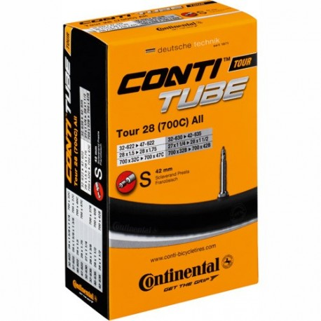 """Continental Tube Compact 24"""" Dunlop Valve"""