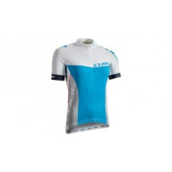 CUBE TEAMLINE WLS Jersey S/S white´n´blue´n´grey