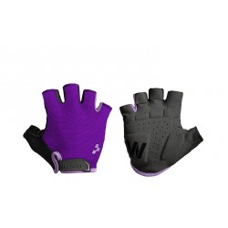 CUBE Natural Fit WLS Gloves Short Finger black´n´pink
