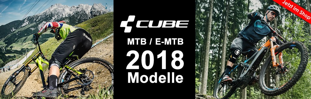 Cube Mountainbikes 2018