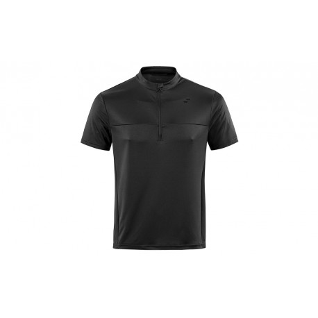 SQUARE Trikot Active kurzarm black