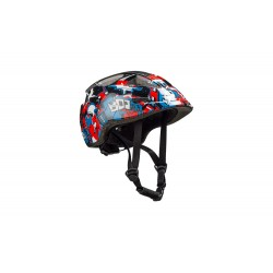 CUBE Helm LUME black graffiti