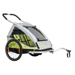 XLC Childtrailer XLC Duo8teen BS-C07 limone