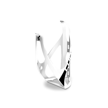 CUBE Bottle Cage HPP matt black´n´white