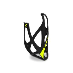CUBE Flaschenhalter HPP matt black´n´flashyellow