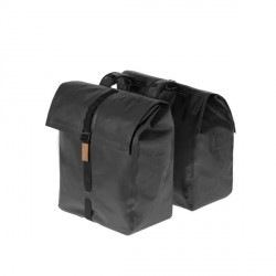 Basil Urban Dry rear double bicycle bag