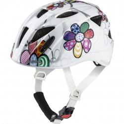 Alpina XIMO FLASH Fahrradhelm white flower