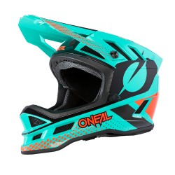O'Neal Blade Polyacrylite Helm Ace mint/orange/black