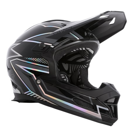 O'Neal FURY Helm Rapid black