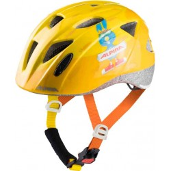 Alpina XIMO Fahrradhelm orange-rabbit