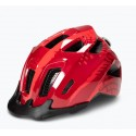 CUBE Helm ANT red splash