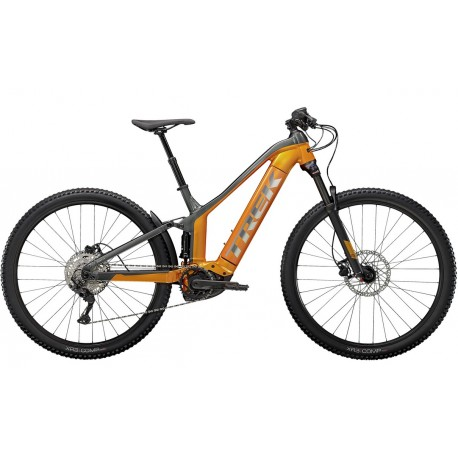 Trek Powerfly FS 4 625 (2021) Factory Orange/Lithium Grey