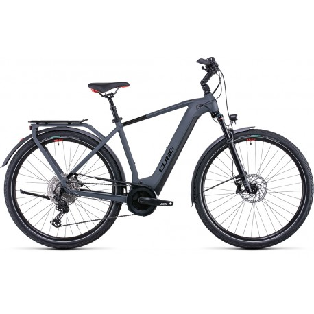 Cube Touring Hybrid EXC 500 grey´n´red 2022