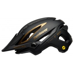Bell SIXER MIPS® Fahrradhelm matte/gloss black/gold fasthouse