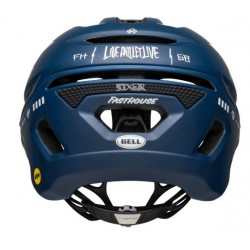 Bell SIXER MIPS® Fahrradhelm matte/gloss blue/white fasthouse