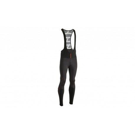 CUBE BLACKLINE Bib Tights w/o Pad black´n´white