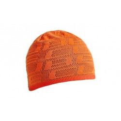 CUBE Beanie Logo AM orange´n´grey